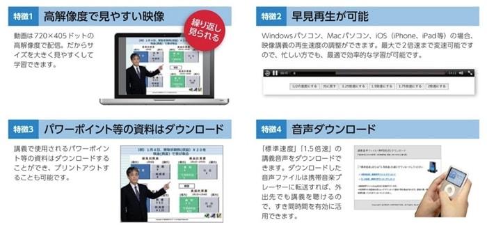 クレアールの日商簿記通信講座のe-Learningシステム